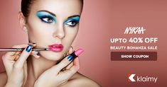 Beauty Bonanza Sale - Get Upto 40% Discount on Your Beauty Products #MyNykaa #beauty #makeup #NykaaBeauty #Nykaacosmetics #NykaaNails #Skincare For more #offers #coupons visit #klaimy