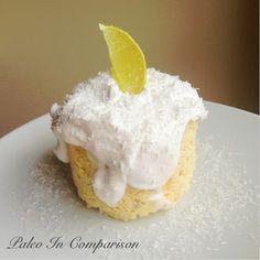 Paleo In Comparison: Guilt Free Coconut Lime Mugcake