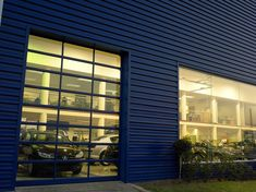 Coro-View® door is ideal for Industrial and Commercial applications. Glass And Aluminium, Aluminium Doors, Blinds, Garage Doors, Commercial, Industrial, Curtains, Outdoor Decor, Home Decor