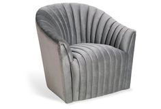 Channel Chair, Silver