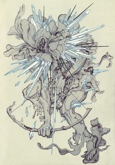 James Jean for Linkin Park's The Hunting Party