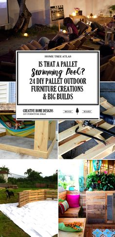 There is so much creativity in these DIY outdoor pallet furniture and build creations. That's what happens when you're limited to building with scrap, salvaged, and recycled wood. Not all of the pallet builds below have instructions, but they are straight forward enough to be built from looking at the pictures. Pallet Furniture 1. A […]