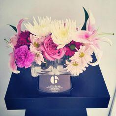 #salon #salonbeau #thesalonbeau #flowers #flowersoftheweek #purple #pink #yellow #white #greens #rosed #lilly