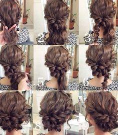 nice Прически на средние волосы (50 фото): стильные варианты Читай больше http://avrorra.com/pricheski-na-srednie-volosy-foto/