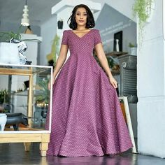 African Party Dresses, African Dresses For Women, African Attire, African Women, African Fashion, African Wear, Ankara Maxi Dress, Maxi Gowns, South African Traditional Dresses