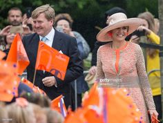 King Willem-Alexander and Queen Maxima of The Netherlands arrive at the Campus Middelsee during their regional tour of north west Friesland province on June 4 2016 in Sint Annaparochie, Netherlands. (Photo by Michel Porro/Getty Images)