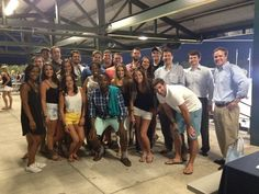 #Lawyer Evan Guthrie with South Carolina Bar Student Division and Young Lawyers Division at the South Carolina Bar Student Affiliate Division event at the Charleston RiverDogs game at Joe Riley Park in Charleston, SC on Tuesday August 26 2014