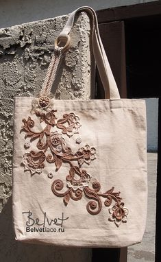 Design  crochet lace by Victoria Belvet. Bязание в технике ирландского…