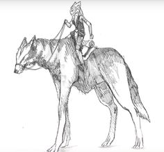 The Untold Stories of Ahsoka Tano - Aside from her re-appearance in Rebels, Filoni had one more idea for Ahsoka revealed at the end of the panel: how she survived Order 66. Accompanied by artwork of Ahsoka riding a giant, long-legged wolf