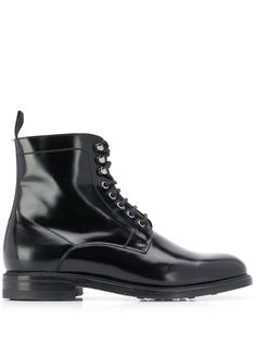 Berwick Shoes classic lace-up boots - Black Berwick Shoes, Black Leather Boots, Lace Up Boots, Combat Boots, Women Wear, Mens Fashion, Classic, Fashion Design, Products