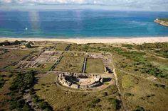 Tarifa, complejo arqueológico Baelo Claudia. #Cádiz #Andalucia.