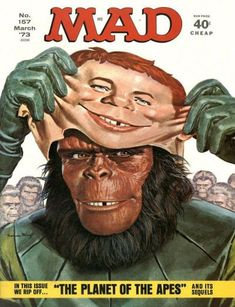 Cover for MAD (EC 1952 serie) #157 MARCH 1973