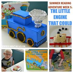 Little Engine That Could Activities, Crafts, Snacks  more! - Mom On Timeout