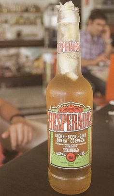 tequila flavoured beer.