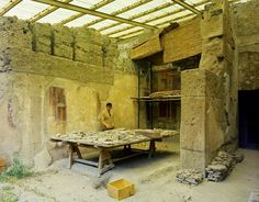 The restored palace of Augustus, Rome.   See gallery http://www.guardian.co.uk/world/gallery/2008/mar/10/italy.artsnews?picture=332888832#