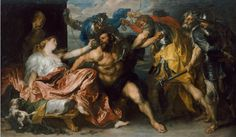 Anthony Van Dyck: Samson and Delilah