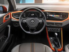 German auto major Volkswagen has unveiled the generation model of the Polo hatch. The new Polo has been completely redesigned. Volkswagen Polo, Vw, Golf 1, Audi A3, Fiat Argo, Used Electric Cars, Polo Design, Lease Deals, Br Car