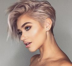 Very Short Haircut for Female, 2019 Short Pixie Haircuts and Hairstyles haircut ideas 10 Trendy Very Short Haircuts for Female, Cool Short Hair Styles 2019 Very Short Haircuts, Short Hairstyles For Women, Cool Hairstyles, Short Female Haircuts, Short Undercut Hairstyles, Long Pixie Haircuts, Short Hair For Women, Undercut Pixie Haircut, Female Fade Haircut