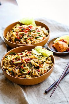Cashew Satay Spiralized Vegetable Stir Fry  ❌ Agave syrup