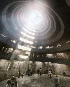 Construction starts on David Adjaye's spiralling stone extinction memorial.