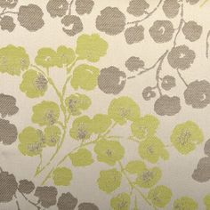 """DURALEE BARBADOS LEAF ORANGE GREEN CURTAIN CUSHION FABRIC BY THE YARD 53/"""" WIDE"""