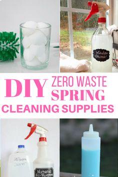 diy zero waste clean