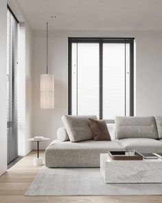 Living Room White, Home Living Room, Interior Design Living Room, Living Room Modern, Modern Minimalist Living Room, Simple Living Room, Living Room Sofa, Living Spaces, Appartement Design