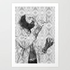Virus Art Print by Cristian Blanxer - $19.76