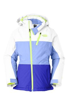 The North Face 'Kizamm' Waterproof Heatseeker™ Insulated Hooded Jacket (Big Girls) available at #Nordstrom