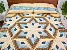 Image result for blue and gold quilt