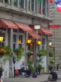 memories of my native home (Old Montreal)