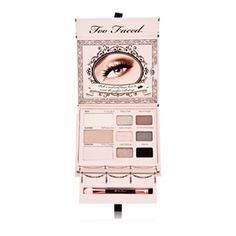 3.	Accentuate the eyes and create a look that could easily go from day to night with Too Faced Naked Eye Soft and Sexy Collection pallet