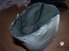 Ne jette pas ton pantalon usé – DIY – Le Royaume de Physalis Creation Couture, Assemblage, Diy, Sewing, Crafts, Clothes, Blog, Tuto Couture Facile, Do It Yourself