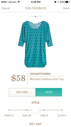 Like the style and colors of this top.https://www.stitchfix.com/referral/3709326