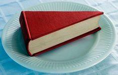 Libro en forma de Cheese Cake