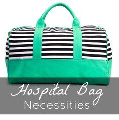 Rootandblossom: Hospital Bag Essentials