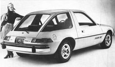 AMC Pacer  (aka fishbowl, but dang it was the best car to learn how to drive in...no blind spots and prettier than the Gremlin.  My best friend owned a Pacer)