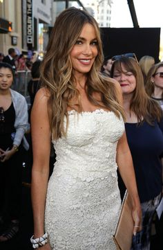 Sofia Vergara attends the premiere of Warner Bros. Pictures' 'Magic Mike XXL' at TCL Chinese Theatre IMAX on June 2015 in Hollywood, California. Sofia Vergara Hair Color, Sofia Vergara Hot, Sophia Vergara, Michelle Rodriguez, Celebs, Celebrities, Star Wars, Mannequin, Dark Hair