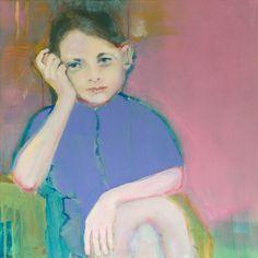 Painting by Elise Klinkert, Acrylic on linen, 60 x 60 cm, for sale at www.eliseklinkert.nl