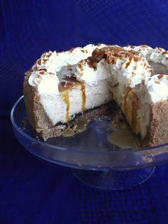 Sticky Caramel Toffee Cheesecake