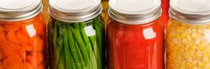 Connect with your Extension Agent for support in home canning and food preservation.