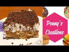 Τουρτα με Πτι Μπερ ή Τουρτα Κατσαρόλας Λαχταριστή by Penny's Creations!!! - YouTube Chocolate Sweets, Tiramisu, Ethnic Recipes, Youtube, Food, Essen, Meals, Tiramisu Cake, Youtubers