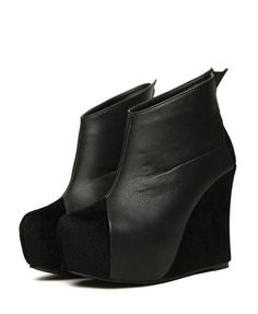 Wedge Boots $86.50