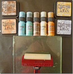 Brenda shares her experience using the Gelli plate with the Distress Inks!  (Ink pads!)