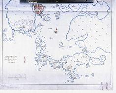 Helsinki 1645; uusi sijainti. Vironniemi, Santahamina ym.