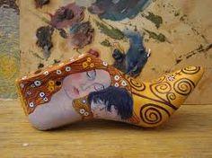 Resultado de imagen para hormas de zapatos pintadas a mano