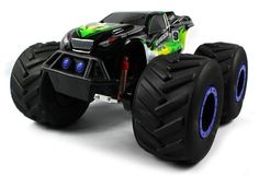 TNT Machine 4X4 Electric RC Truck 18 Giant Monster Truck Off Road 4WD 4 Wheel Drive Huge Scale Ready To Run RTR (Colors May Vary)