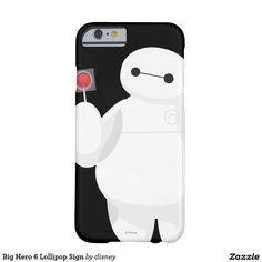Big Hero 6 Lollipop Sign Barely There iPhone 6 Case