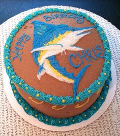 Swordfish Cake