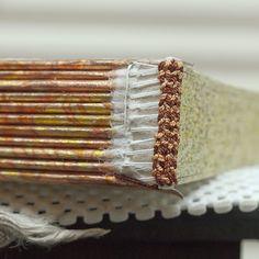 Islamic Headband Sewn Over Flat Leather Core